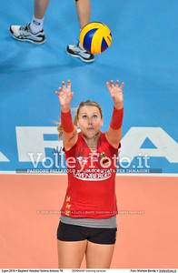GERMANY training session 2016 European Olympic Qualification - Women | Başkent Voleybol Salonu Ankara, Türkiye, 03.01.2016 FOTO: Michele Benda © 2016 Volleyfoto.it, all rights reserved [id:20160103.MBQ_1148]