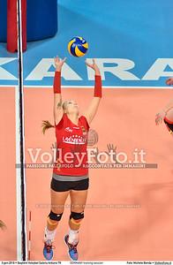 GERMANY training session 2016 European Olympic Qualification - Women | Başkent Voleybol Salonu Ankara, Türkiye, 03.01.2016 FOTO: Michele Benda © 2016 Volleyfoto.it, all rights reserved [id:20160103.MBQ_1139]