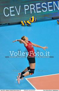 GERMANY training session 2016 European Olympic Qualification - Women | Başkent Voleybol Salonu Ankara, Türkiye, 03.01.2016 FOTO: Michele Benda © 2016 Volleyfoto.it, all rights reserved [id:20160103.MBQ_1077]