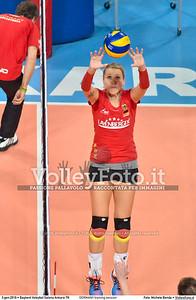 GERMANY training session 2016 European Olympic Qualification - Women | Başkent Voleybol Salonu Ankara, Türkiye, 03.01.2016 FOTO: Michele Benda © 2016 Volleyfoto.it, all rights reserved [id:20160103.MBQ_1170]