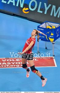 GERMANY training session 2016 European Olympic Qualification - Women | Başkent Voleybol Salonu Ankara, Türkiye, 03.01.2016 FOTO: Michele Benda © 2016 Volleyfoto.it, all rights reserved [id:20160103.MBQ_1084]
