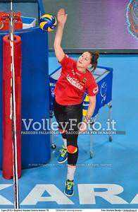 GERMANY training session 2016 European Olympic Qualification - Women | Başkent Voleybol Salonu Ankara, Türkiye, 03.01.2016 FOTO: Michele Benda © 2016 Volleyfoto.it, all rights reserved [id:20160103.MBQ_1176]