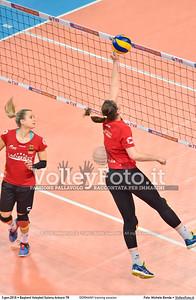 GERMANY training session 2016 European Olympic Qualification - Women | Başkent Voleybol Salonu Ankara, Türkiye, 03.01.2016 FOTO: Michele Benda © 2016 Volleyfoto.it, all rights reserved [id:20160103.MBQ_1134]