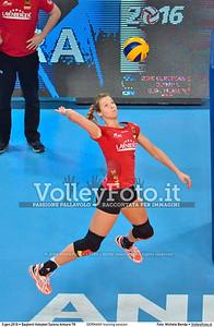 GERMANY training session 2016 European Olympic Qualification - Women | Başkent Voleybol Salonu Ankara, Türkiye, 03.01.2016 FOTO: Michele Benda © 2016 Volleyfoto.it, all rights reserved [id:20160103.MBQ_1172]