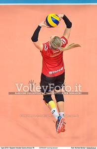 GERMANY training session 2016 European Olympic Qualification - Women | Başkent Voleybol Salonu Ankara, Türkiye, 03.01.2016 FOTO: Michele Benda © 2016 Volleyfoto.it, all rights reserved [id:20160103.MBQ_1158]
