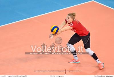GERMANY training session 2016 European Olympic Qualification - Women | Başkent Voleybol Salonu Ankara, Türkiye, 03.01.2016 FOTO: Michele Benda © 2016 Volleyfoto.it, all rights reserved [id:20160103.MBQ_1128]