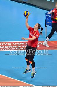 GERMANY training session 2016 European Olympic Qualification - Women | Başkent Voleybol Salonu Ankara, Türkiye, 03.01.2016 FOTO: Michele Benda © 2016 Volleyfoto.it, all rights reserved [id:20160103.MBQ_1086]