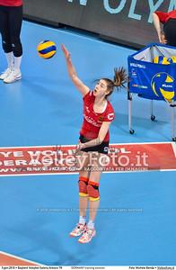 GERMANY training session 2016 European Olympic Qualification - Women | Başkent Voleybol Salonu Ankara, Türkiye, 03.01.2016 FOTO: Michele Benda © 2016 Volleyfoto.it, all rights reserved [id:20160103.MBQ_1082]