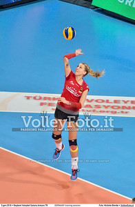 GERMANY training session 2016 European Olympic Qualification - Women | Başkent Voleybol Salonu Ankara, Türkiye, 03.01.2016 FOTO: Michele Benda © 2016 Volleyfoto.it, all rights reserved [id:20160103.MBQ_1105]