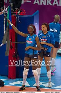 ITALY training session 2016 European Olympic Qualification - Women   Başkent Voleybol Salonu Ankara, Türkiye, 03.01.2016 FOTO: Michele Benda © 2016 Volleyfoto.it, all rights reserved [id:20160103.MBQ_1481]
