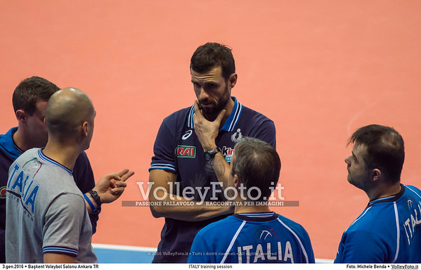 ITALY training session 2016 European Olympic Qualification - Women | Başkent Voleybol Salonu Ankara, Türkiye, 03.01.2016 FOTO: Michele Benda © 2016 Volleyfoto.it, all rights reserved [id:20160103.MBQ_1479]