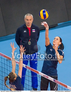 RUSSIA training session 2016 European Olympic Qualification - Women | Başkent Voleybol Salonu Ankara, Türkiye, 03.01.2016 FOTO: Michele Benda © 2016 Volleyfoto.it, all rights reserved [id:20160103.MBQ_1051]