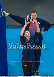 RUSSIA training session 2016 European Olympic Qualification - Women | Başkent Voleybol Salonu Ankara, Türkiye, 03.01.2016 FOTO: Michele Benda © 2016 Volleyfoto.it, all rights reserved [id:20160103._MBK2034]