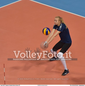 RUSSIA training session 2016 European Olympic Qualification - Women | Başkent Voleybol Salonu Ankara, Türkiye, 03.01.2016 FOTO: Michele Benda © 2016 Volleyfoto.it, all rights reserved [id:20160103.MB2_5498]