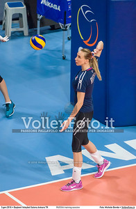 RUSSIA training session 2016 European Olympic Qualification - Women | Başkent Voleybol Salonu Ankara, Türkiye, 03.01.2016 FOTO: Michele Benda © 2016 Volleyfoto.it, all rights reserved [id:20160103.MBQ_1049]