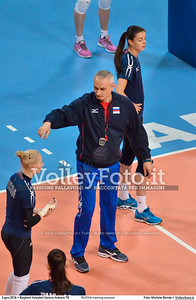 RUSSIA training session 2016 European Olympic Qualification - Women | Başkent Voleybol Salonu Ankara, Türkiye, 03.01.2016 FOTO: Michele Benda © 2016 Volleyfoto.it, all rights reserved [id:20160103.MBQ_1056]