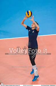RUSSIA training session 2016 European Olympic Qualification - Women | Başkent Voleybol Salonu Ankara, Türkiye, 03.01.2016 FOTO: Michele Benda © 2016 Volleyfoto.it, all rights reserved [id:20160103._MBK2024]
