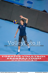 RUSSIA training session 2016 European Olympic Qualification - Women | Başkent Voleybol Salonu Ankara, Türkiye, 03.01.2016 FOTO: Michele Benda © 2016 Volleyfoto.it, all rights reserved [id:20160103.MBQ_1046]