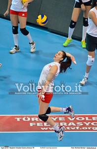 TURKEY training session 2016 European Olympic Qualification - Women | Başkent Voleybol Salonu Ankara, Türkiye, 03.01.2016 FOTO: Michele Benda © 2016 Volleyfoto.it, all rights reserved [id:20160103.MBQ_1272]