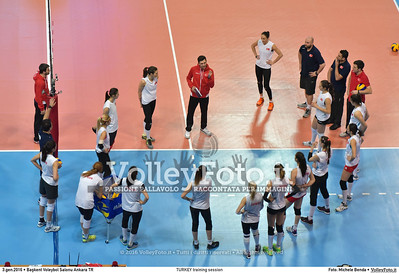 TURKEY training session 2016 European Olympic Qualification - Women   Başkent Voleybol Salonu Ankara, Türkiye, 03.01.2016 FOTO: Michele Benda © 2016 Volleyfoto.it, all rights reserved [id:20160103.MB2_5635]