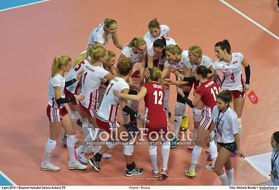 Poland - Russia POOL B - 2016 European Olympic Qualification - Women | Başkent Voleybol Salonu Ankara, Türkiye, 04.01.2016 FOTO: Michele Benda © 2016 Volleyfoto.it, all rights reserved [id:20160104.MB2_6807]