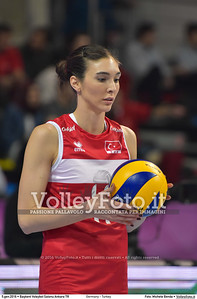 Germany - Turkey POOL A - 2016 European Olympic Qualification - Women | Başkent Voleybol Salonu Ankara, Türkiye, 05.01.2016 FOTO: Michele Benda © 2016 Volleyfoto.it, all rights reserved [id:20160105.MB2_8460]