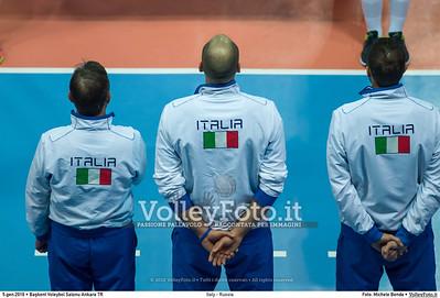 Italy - Russia POOL B - 2016 European Olympic Qualification - Women | Başkent Voleybol Salonu Ankara, Türkiye, 05.01.2016 FOTO: Michele Benda © 2016 Volleyfoto.it, all rights reserved [id:20160105.MBQ_2532]