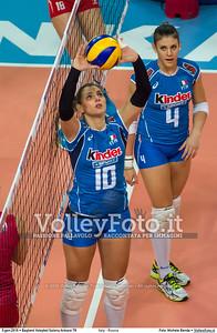 Alessia ORRO [04]  e Francesca FERRETTI [10]
