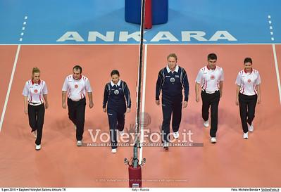Italy - Russia POOL B - 2016 European Olympic Qualification - Women | Başkent Voleybol Salonu Ankara, Türkiye, 05.01.2016 FOTO: Michele Benda © 2016 Volleyfoto.it, all rights reserved [id:20160105.MB2_7621]