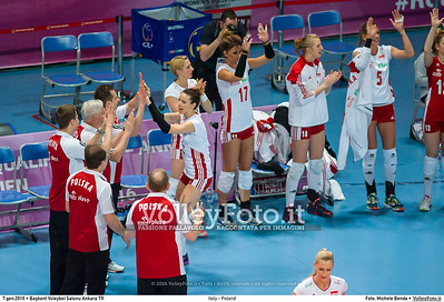 Italy - Poland POOL B - 2016 European Olympic Qualification - Women | Başkent Voleybol Salonu Ankara, Türkiye, 07.01.2016 FOTO: Michele Benda © 2016 Volleyfoto.it, all rights reserved [id:20160107._MBK2703]