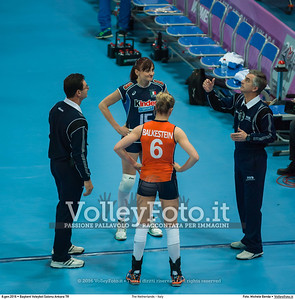 The Netherlands - Italy SEMIFINAL - 2016 European Olympic Qualification - Women | Başkent Voleybol Salonu Ankara, Türkiye, 08.01.2016 FOTO: Michele Benda © 2016 Volleyfoto.it, all rights reserved [id:20160108._MBK3310]