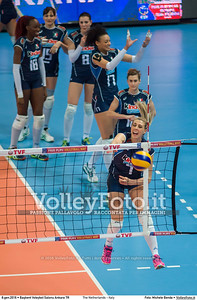 The Netherlands - Italy SEMIFINAL - 2016 European Olympic Qualification - Women | Başkent Voleybol Salonu Ankara, Türkiye, 08.01.2016 FOTO: Michele Benda © 2016 Volleyfoto.it, all rights reserved [id:20160108._MBK3315]
