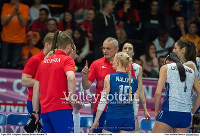 Russia - The Netherlands FINAL - 2016 European Olympic Qualification - Women   Başkent Voleybol Salonu Ankara, Türkiye, 09.01.2016 FOTO: Michele Benda © 2016 Volleyfoto.it, all rights reserved [id:20160109._MBK4734]