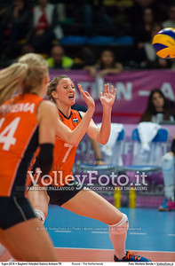 Russia - The Netherlands FINAL - 2016 European Olympic Qualification - Women | Başkent Voleybol Salonu Ankara, Türkiye, 09.01.2016 FOTO: Michele Benda © 2016 Volleyfoto.it, all rights reserved [id:20160109._MBK4708]