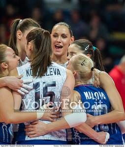 Russia - The Netherlands FINAL - 2016 European Olympic Qualification - Women   Başkent Voleybol Salonu Ankara, Türkiye, 09.01.2016 FOTO: Michele Benda © 2016 Volleyfoto.it, all rights reserved [id:20160109._MBK4713]