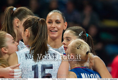 Russia - The Netherlands FINAL - 2016 European Olympic Qualification - Women | Başkent Voleybol Salonu Ankara, Türkiye, 09.01.2016 FOTO: Michele Benda © 2016 Volleyfoto.it, all rights reserved [id:20160109._MBK4715]