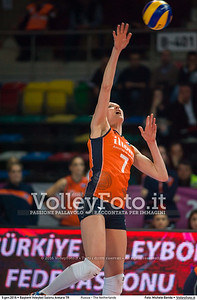 Russia - The Netherlands FINAL - 2016 European Olympic Qualification - Women | Başkent Voleybol Salonu Ankara, Türkiye, 09.01.2016 FOTO: Michele Benda © 2016 Volleyfoto.it, all rights reserved [id:20160109._MBK4706]