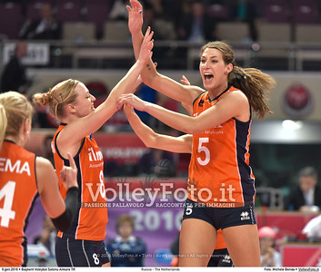 Russia - The Netherlands FINAL - 2016 European Olympic Qualification - Women | Başkent Voleybol Salonu Ankara, Türkiye, 09.01.2016 FOTO: Michele Benda © 2016 Volleyfoto.it, all rights reserved [id:20160109.MB2_2134]