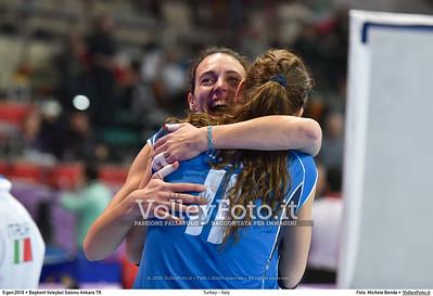 Nadia CENTONI [09]  e Cristina CHIRICHELLA [11]