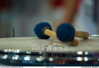 Russia - Turkey SEMIFINAL - 2016 European Olympic Qualification - Women | Başkent Voleybol Salonu Ankara, Türkiye, 08.01.2016 FOTO: Michele Benda © 2016 Volleyfoto.it, all rights reserved [id:20160108._MBK3819]