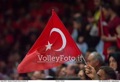 Russia - Turkey SEMIFINAL - 2016 European Olympic Qualification - Women | Başkent Voleybol Salonu Ankara, Türkiye, 08.01.2016 FOTO: Michele Benda © 2016 Volleyfoto.it, all rights reserved [id:20160108._MBK3821]