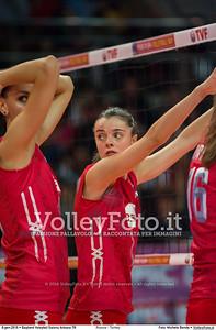 Russia - Turkey SEMIFINAL - 2016 European Olympic Qualification - Women | Başkent Voleybol Salonu Ankara, Türkiye, 08.01.2016 FOTO: Michele Benda © 2016 Volleyfoto.it, all rights reserved [id:20160108._MBK3805]