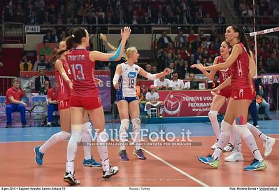 Russia - Turkey SEMIFINAL - 2016 European Olympic Qualification - Women | Başkent Voleybol Salonu Ankara, Türkiye, 08.01.2016 FOTO: Michele Benda © 2016 Volleyfoto.it, all rights reserved [id:20160108.MB2_1311]