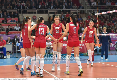 Russia - Turkey SEMIFINAL - 2016 European Olympic Qualification - Women | Başkent Voleybol Salonu Ankara, Türkiye, 08.01.2016 FOTO: Michele Benda © 2016 Volleyfoto.it, all rights reserved [id:20160108.MB2_1309]