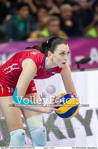 Russia - Turkey SEMIFINAL - 2016 European Olympic Qualification - Women | Başkent Voleybol Salonu Ankara, Türkiye, 08.01.2016 FOTO: Michele Benda © 2016 Volleyfoto.it, all rights reserved [id:20160108._MBK3779]
