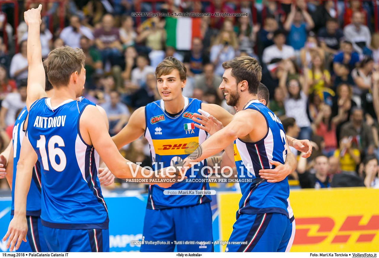 «Italy vs Australia»