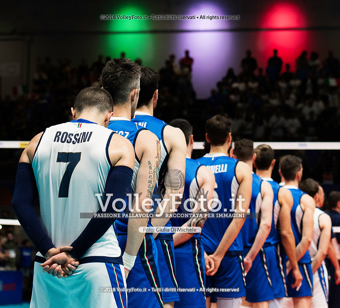 «Italia-USA» Pool 20 - Week 5 - Volleyball Nations League - Maschile presso PalaPanini Modena RS, 24 giugno 2018 - Foto di Giulia Di Michele per VolleyFoto
