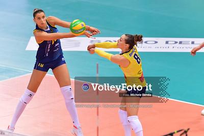 Savino del Bene SCANDICCI - Fenerbahce Opet ISTANBUL / Quarter-Finals Home match, 2019 CEV Volleyball Champions League - Women IT, 13 marzo 2019 - Foto: Michele Benda per VolleyFoto.it [Riferimento file: 2019-03-13/ND5_9836]