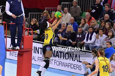 Savino del Bene SCANDICCI - Fenerbahce Opet ISTANBUL / Quarter-Finals Home match, 2019 CEV Volleyball Champions League - Women IT, 13 marzo 2019 - Foto: Michele Benda per VolleyFoto.it [Riferimento file: 2019-03-13/ND5_0027]