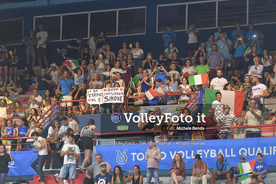 ITALIA vs CAMERUN, 2019 FIVB Intercontinental Olympic Qualification Tournament - Men's Pool C IT, 9 agosto 2019. Foto: Michele Benda per VolleyFoto.it [riferimento file: 2019-08-09/ND5_5409]